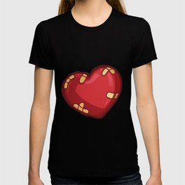 Heart with plaster T-shirt