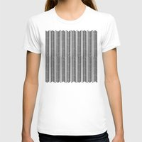 stripe T-shirts featuring Herringbone Stripe by Project M