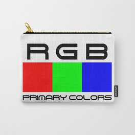 RGB. Primary colors. Carry-All Pouch