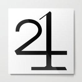 21 MOON WATER Metal Print