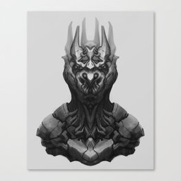 Dark king Canvas Print