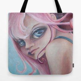 Z imagination Zoe, pretty in pink Tote Bag