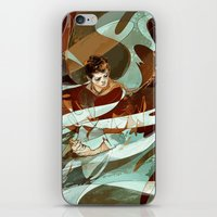 grace iPhone & iPod Skins featuring grace by anobviousaside