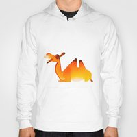 camel Hoodies featuring Camel by Sukanto Debnath