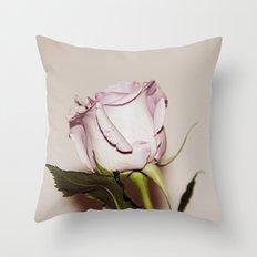 Last Rose Throw Pillow