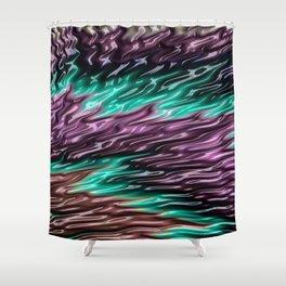 Squalling Harpoon Fractal Design 2 Shower Curtain