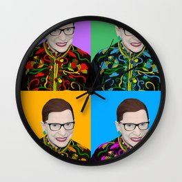 Four Ruths Wall Clock