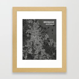 Brisbane, Australia Framed Art Print