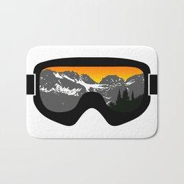 Sunset Goggles 2 | Goggle Designs | DopeyArt Bath Mat