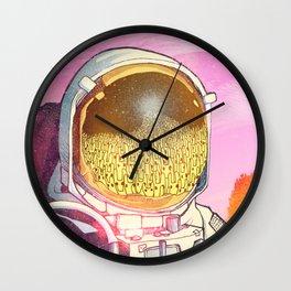 Unexpected Visitors Wall Clock