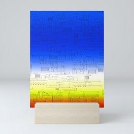 Arcade Schematics Mini Art Print