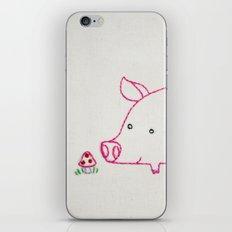 P Pig iPhone & iPod Skin