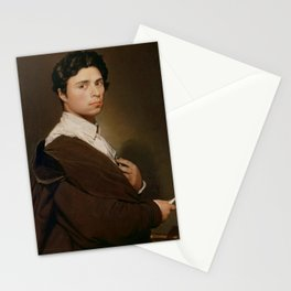 Jean-Auguste-Dominique Ingres - Self-portrait at twenty-four Stationery Cards