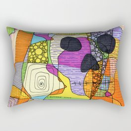 Skulls & Buddha 52 Rectangular Pillow