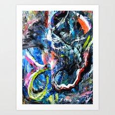Trilogy 12' Art Print