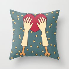 everlasting love Throw Pillow