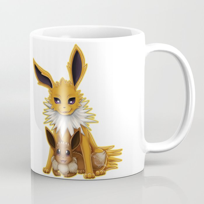 325c85ad Jolteon and Eevee Pup Coffee Mug by christineridgway | Society6