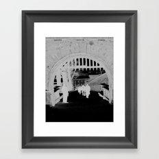 Keystone Framed Art Print