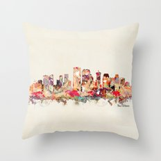 new orleans louisiana Throw Pillow