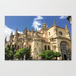 Segovia, Spain - Cathedral Canvas Print