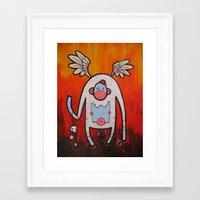 doom Framed Art Prints featuring Doom by Matt Sinor