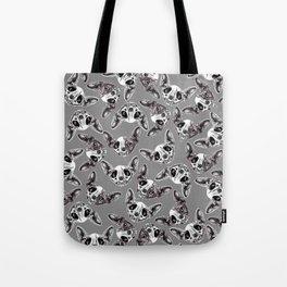 Shynx Half Skull Pattern Tote Bag