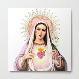 Mary Update Metal Print