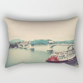 The Delta Queen Rectangular Pillow