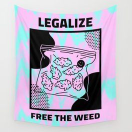 LEGALIZE Wall Tapestry