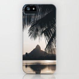Lagoa in Rio de Janeiro, Brazil iPhone Case