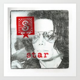 S is for star Art Print
