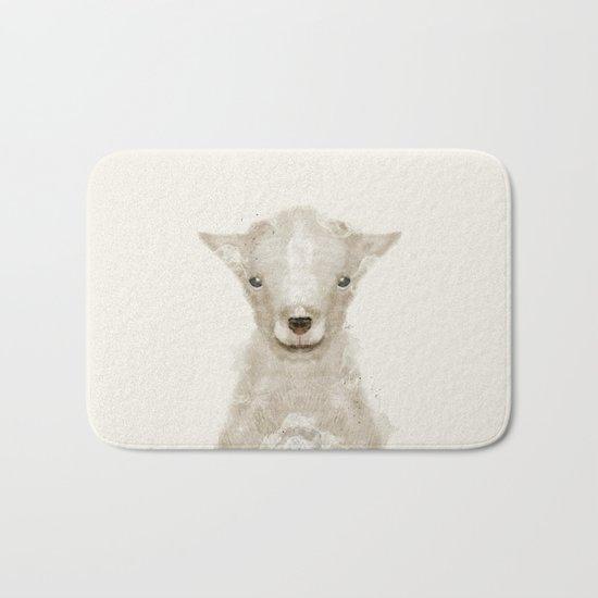 little lamb Bath Mat