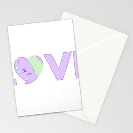 Yami Kawaii Pastel Goth Stationery Cards