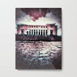 {In with the old} Metal Print