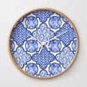 Indigo Blue Geometric by lisabraun