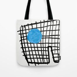 a graphic montage Tote Bag