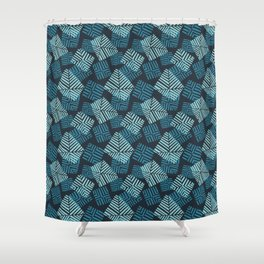 sails in turqs Shower Curtain
