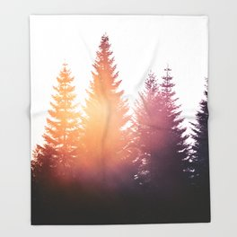 Morning Glory Throw Blanket