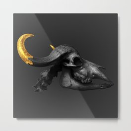 To The Bone Metal Print