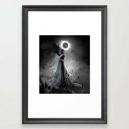 Tonight we rise Cream version Framed Art Print