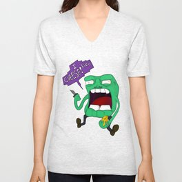 Cheese Fiend Unisex V-Neck