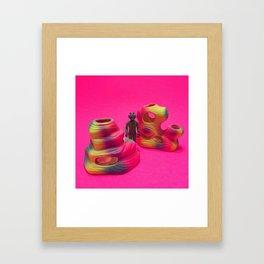Greedo Pink Scungle Framed Art Print