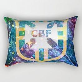 Brazil Logo Rectangular Pillow