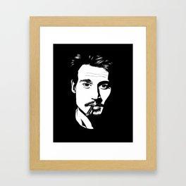 Jhonny Depp Framed Art Print