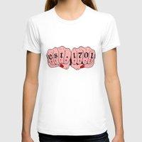 detroit T-shirts featuring Detroit MI by scoobtoobins