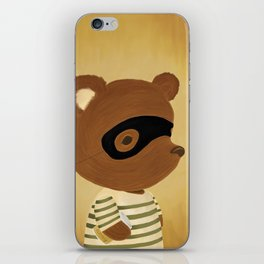 The Honey Robber iPhone Skin