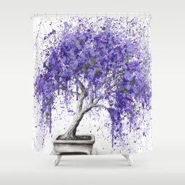 Balancing Bonsai Shower Curtain