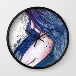 Prayers For Rain: Blue Wall Clock