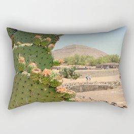 Nopales en Teotihuacan Rectangular Pillow