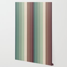 autumn season color pattern - striped fall colors Wallpaper